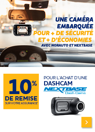 DASHCAM 10pc sur assurance
