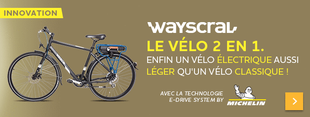 Vélo Wayscral e-drive by Michelin