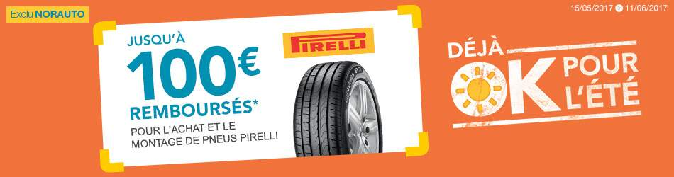 promo pneu pirelli offre et promo pirelli norauto. Black Bedroom Furniture Sets. Home Design Ideas