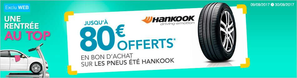 promo pneu hankook offre et promo hankook norauto. Black Bedroom Furniture Sets. Home Design Ideas