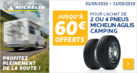 Op Michelin Agilis Camping